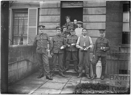 12th Hants, Bathwick, Bath No.12 c.April 1915