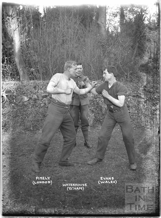 Boxing, Bath, c.April 1915