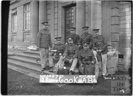 Cooks, 12th Hants, Bath No.22 c.April 1915