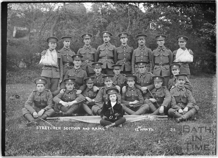 Stretcher Section and Ram C, 12th Hants, Bath No.35 c.April 1915