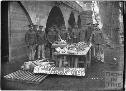 Cooks, 12th Hants, Bath No.21 c.April 1915