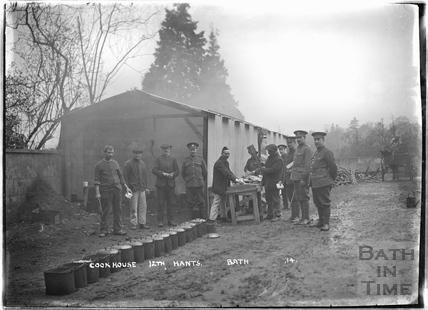 Cookhouse, 12th Hants, Bath No.14 c.April 1915