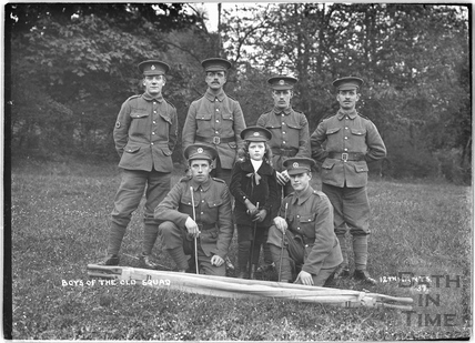 Boys of the Old Squad, 12th Hants, Bath No.37 c.April 1915