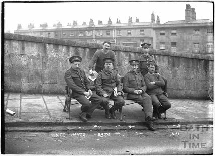 12th Hants, Bathwick, Bath No.12a c.April 1915
