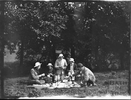 An Edwardian picnic c.1900