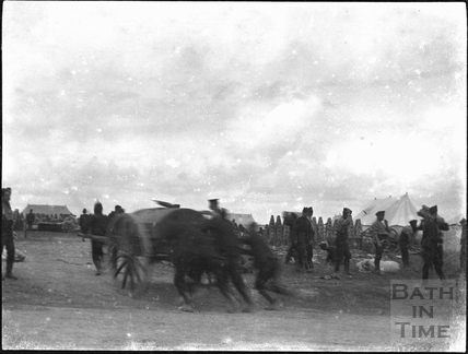 Military manoeuvres, possibly Salisbury Plain, c.1890s