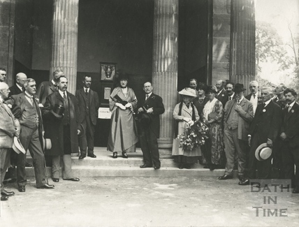Ceremony at the Minerva's Temple in Sydney Gardens c.1920