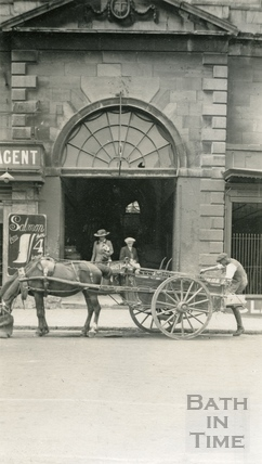 Market Entrance, New Market Row c.1910
