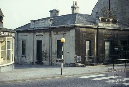 Claverton Street, Bath Southern Dispensary, November 1969