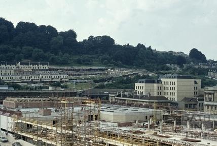 Southgate rebuilding, 1972