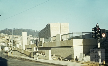 Walcot / Northgate Street, Bath Beaufort Hotel, 3 December 1972