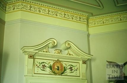 27 Marlborough Buildings, doorhead, date unknown