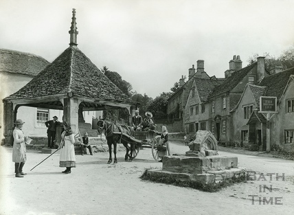 The Village Market Place, Castle Combe No.14 c.1906
