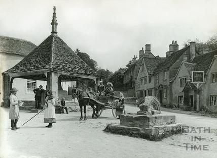 The Village Market Place, Castle Combe No.14 c.1906