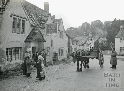 The White Lion Inn in the village of Castle Combe No.212 c.1906