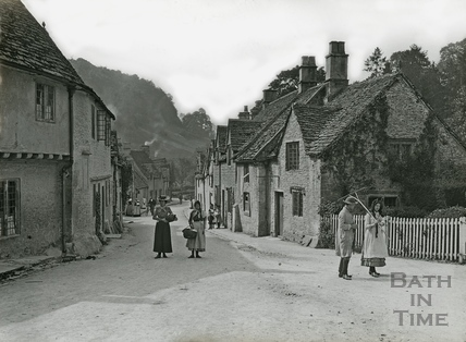 The Village Street, Castle Combe No.167 c.1906