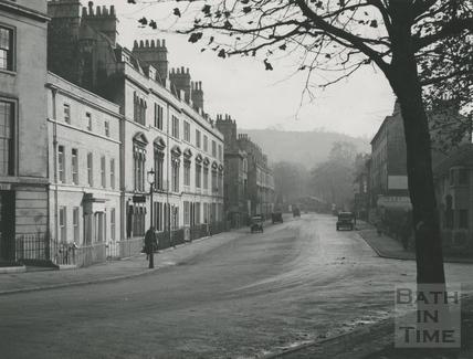 Bathwick Street from Rochfort Place 1941