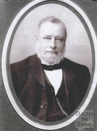 Thomas Carr, owner of the Twerton Mills c.1880
