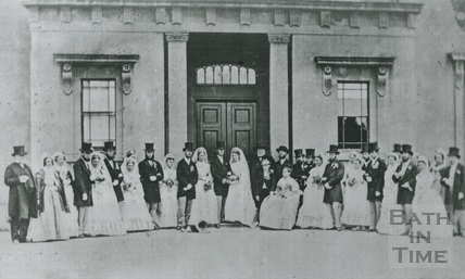 An early family wedding at Wood House c.1890