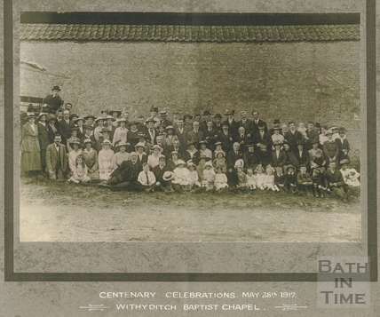 Centenary Celebrations, May 28th 1917, Withyditch Baptist Chapel