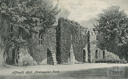 Alfred's Hall, Cirencester Park c.1905