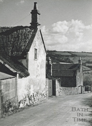 Thatched cottage, Old Midford road, Midford c.1930s