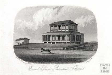 Grand Stand, Bath Racecourse, Lansdown, Bath 27 May 1863