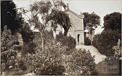 The Gateway to Lansdown Cemetery by H.E. Goodridge c.1880
