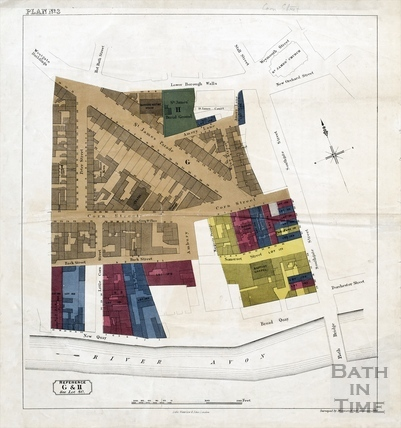 Sales plan for Lower Borough Walls to New Quay area - Lot 80 - Plan No.3 pre-1872