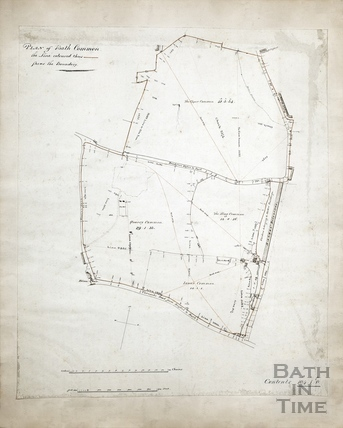 Plan of Bath Common c.1800?