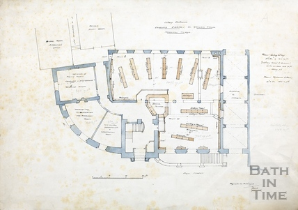 Plan of Technical Schools (ground floor) - Library extension 1932