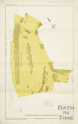 Sales plan for Lower Camden Place area - Lot 79 - Plan No.2 [?development plans] pre-1872