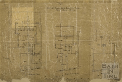 Proposed shops, Bear Brewery site, Bear Flat (plan) 1907