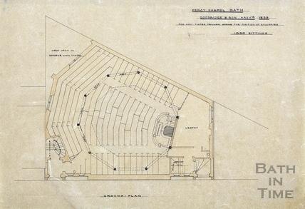 Percy Chapel (pew plan) 1853