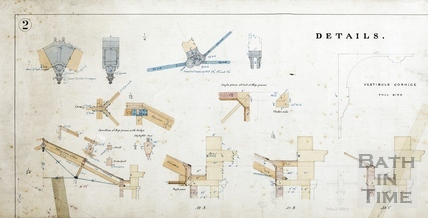 A new room at the Literary and Scientific Institute (plans of details) (BRLSI) - Charles W Dymond 1889