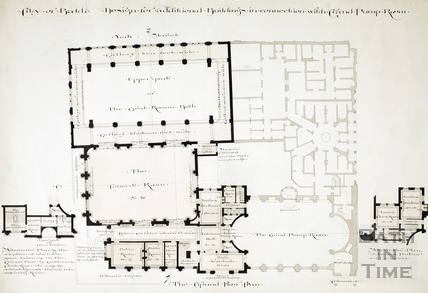 Design for additional buildings in connection with Grand Pump Room - ground floor plan 1894