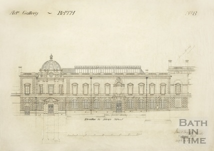 Art Gallery - no.8 - elevation to Bridge Street - JM Brydon September 1897