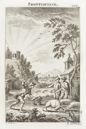 Frontispiece image for Columella; or The Distressed Anchoret Vol I 1779