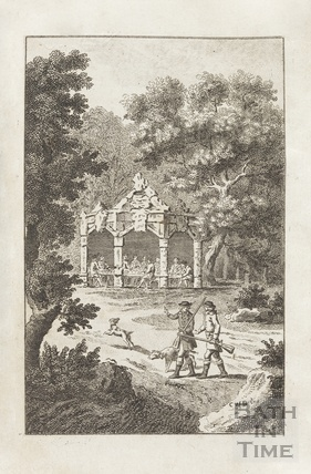 Frontispiece image for Eugenius or Anecdotes of the Golden Vale Vol II 1785
