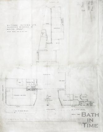 Whitings Motors Ltd - proposed widening of Barton Street - AJ Taylor & partners August 1939