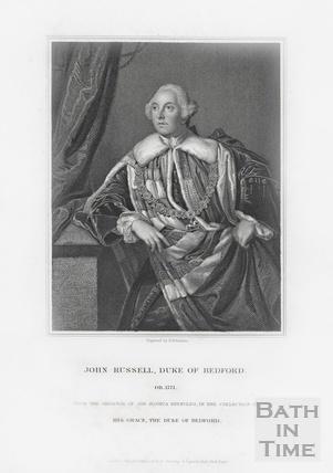 John Russell, Duke of Bedford OB 1771