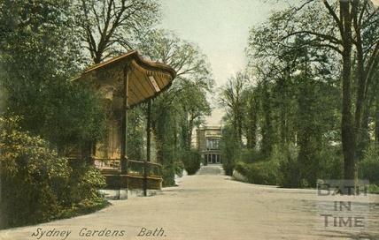 The bandstand in Sydney Gardens c.1910s