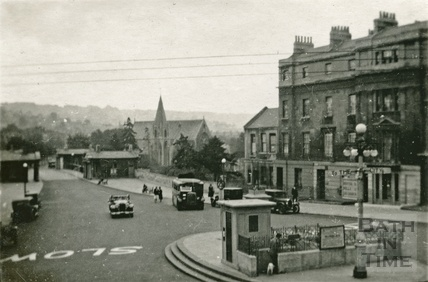 Cleveland Place, from Walcot Parade c.1940s?