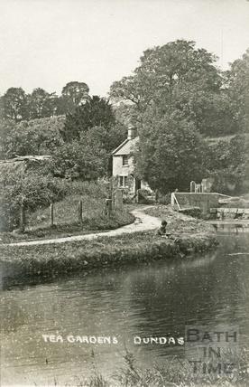 Fishing outside the Tea Gardens, Dundas c.1919