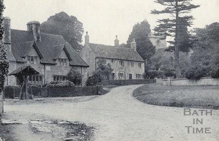Lullington Village scene, October 1926