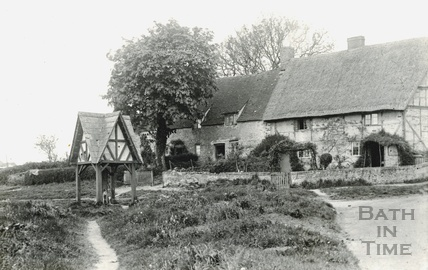 Unidentified Village scene c.1930s