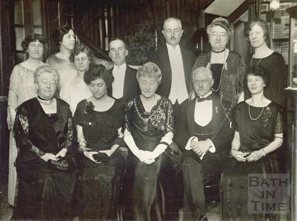 Madam Sarah Grand at the Dickens Commemoration Dinner, Feb 7th 1925