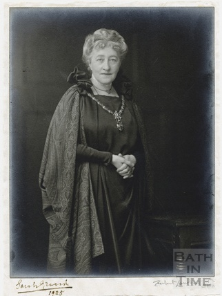 Madam Sarah Grand, Mayoress of Bath, 1925