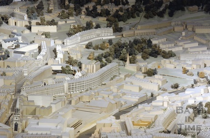 The Bath model, Paragon, Camden Crescent