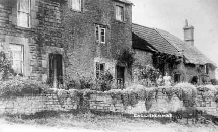 Cottages in Englishcombe c.1920